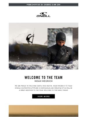 Welcome to Team O'Neill: Noah Wegrich