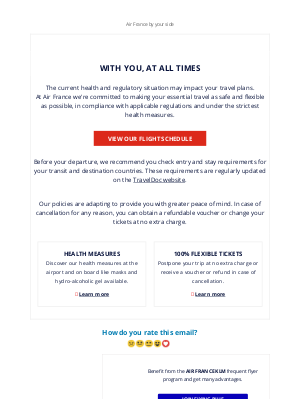 Air France - Air France, with you at all times