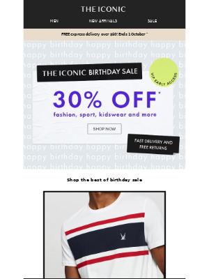 THE ICONIC AU - Top 6 birthday sale picks 🎊