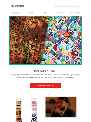 Swatch - Discover timeless art from Macau