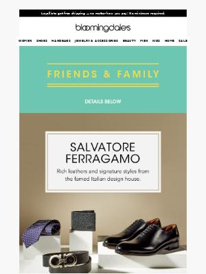 Salvatore Ferragamo's latest must-haves