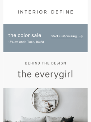 Interior Define - Behind the Design: The Everygirl