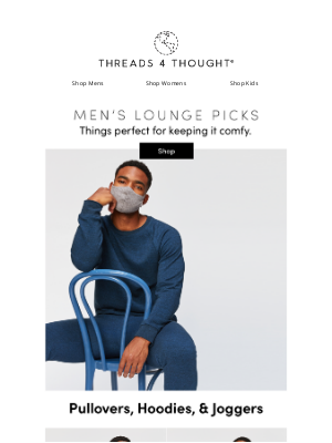 Threads For Thought - Men's Lounge Picks