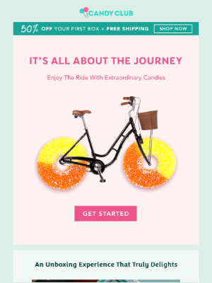 Wanderlust? Enjoy The Ride With Candies!