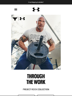 Under Armour - Project Rock: the hardest-working gear
