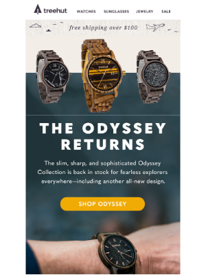 Odyssey Collection Watches are Back ⛵