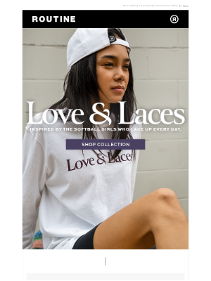 Routine Baseball - Love & Laces: A Softball Collection