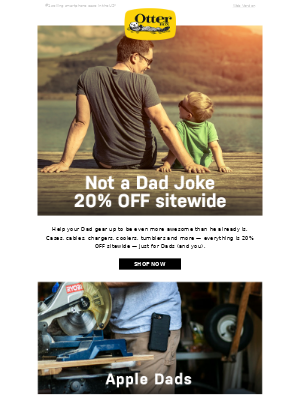 20% OFF sitewide — for Dads