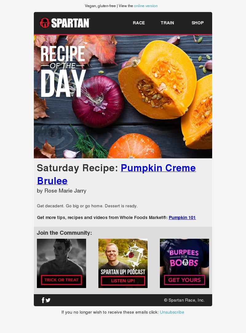 Vegan, gluten-free | View the online version RACE TRAIN SHOP Recipe of the