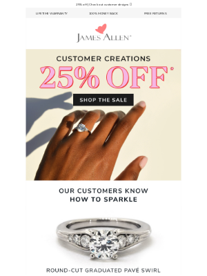 James Allen Rings - Last Chance For The Sale → Don't Miss Out!