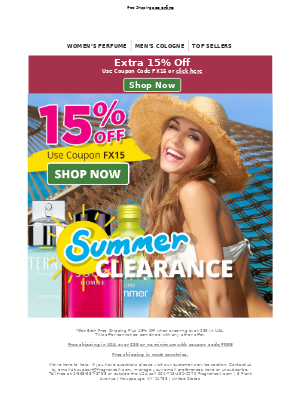 Summer Blowout 30 - 70% Off Today