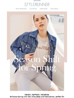 Stylerunner - Season Shift For Spring