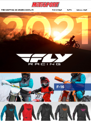New Gear Release | 2021 Fly Racing