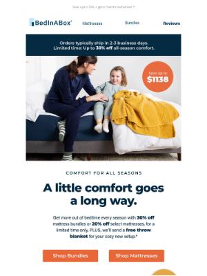 BedInABox - A little comfort goes a long way.✨