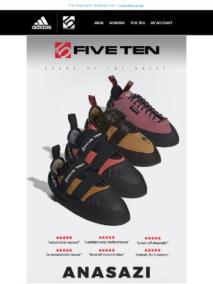 Adidas Five Ten - Anasazi SUPER SALE  🔥 OVER 50% OFF 🔥