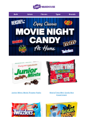 CandyWarehouse - 🎬 Need Candy For Movie Night?