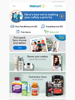 Walmart (CA) - Renew your routine ✨