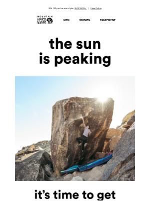 Mountain Hardwear - For any adventures under the sun.