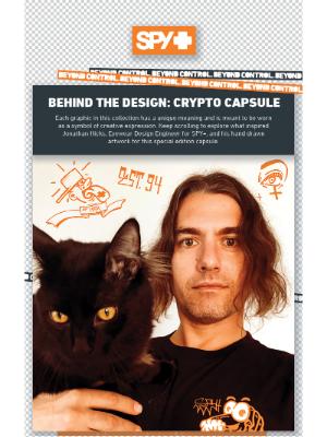 Spy Optic - Behind the Design: Crypto Capsule