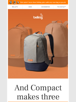 Bellroy - Meet the Classic Backpack Compact!