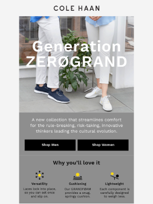 Why you'll love Generation ZERØGRAND