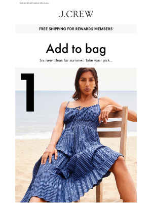 J.Crew - What to wear for the rest of summer...