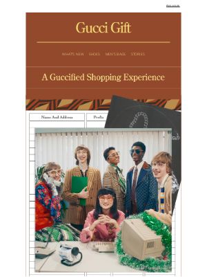 Gucci USA - Presenting a Range of Exclusive Services