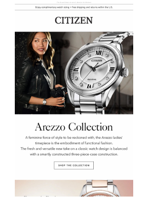 Citizen Watch Company - A Standout with Style and Substance