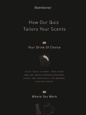 How we tailor your perfect cologne 🔬