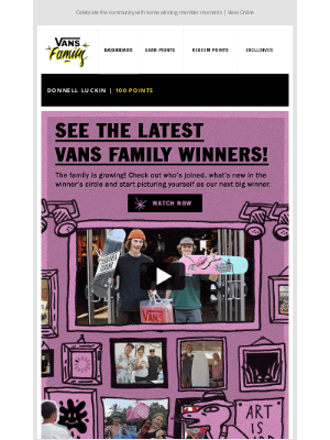 Vans - Check out what's happening in the Vans Family