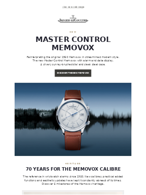 Introducing the new Master Control Memovox