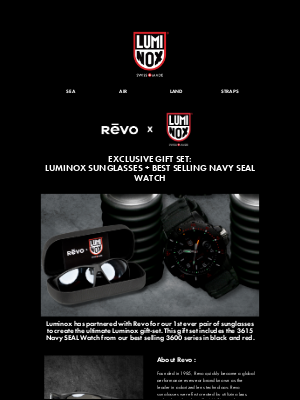 Luminox - Shopping Early For The Holidays?