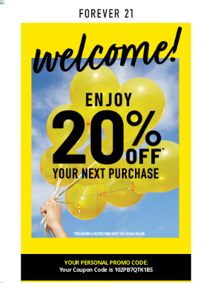 Forever 21 - Welcome to Forever 21!