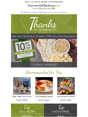 GourmetGiftBaskets - Take Another Look & Share the Gift of Gourmet
