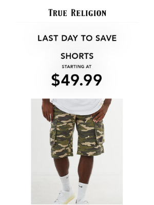 True Religion - LAST DAY: Get Up To 70% Off!