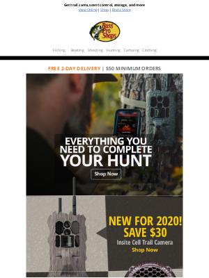 Bass Pro Shops - Prepare for a successful hunt