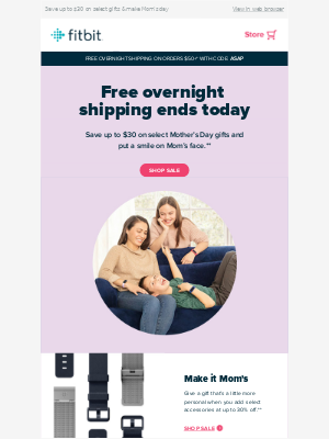 Ends Today – Free overnight shipping
