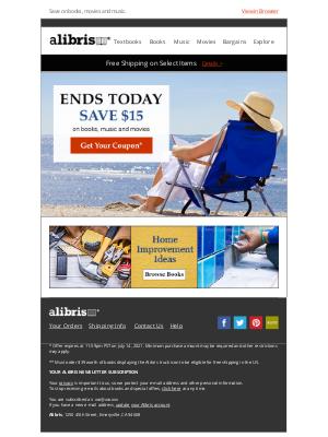 Alibris - Save $15 | Sale Ends Tonight, Maisha