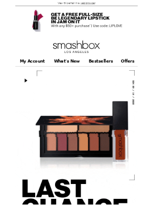 Smashbox Cosmetics USA - 50% Off Select Sale Items & A Gift? Sign me Up! 🙋‍♀️