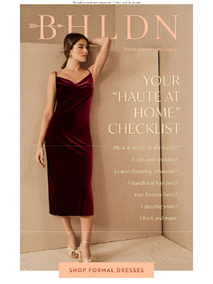 A Guide to Dressing Up at Home