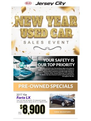 Kia Motors America - Vehicles As Low As Nine Thousand Dollars Here At Jersey City Kia!