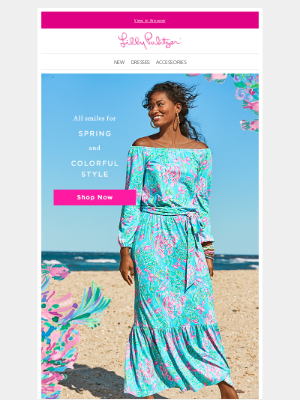 Lilly Pulitzer - Last chance for gifts with purchase!
