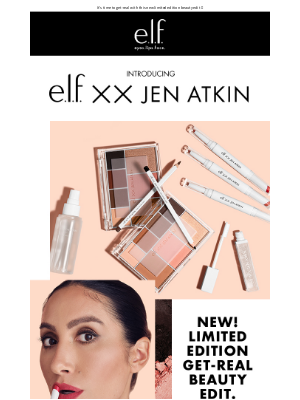 e.l.f. Cosmetics - e.l.f. xx Jen Atkin is finally here 🤍