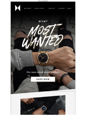 Most Wanted Watches