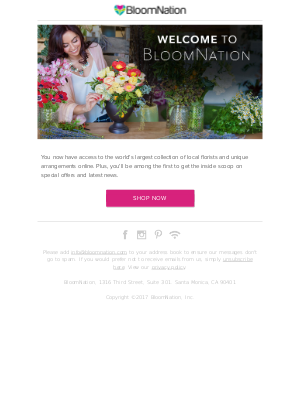 BloomNation - Welcome, russell guria!