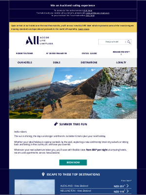 Accor Hotels - Click here to find inspiration for your next holiday 👆