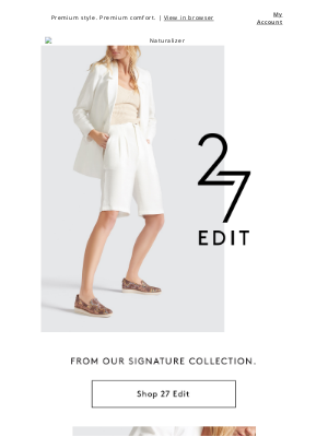 Naturalizer - Just in: luxe sneakers from 27 Edit.