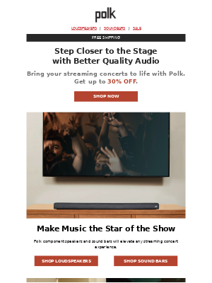 Polk Audio - Virtual concerts are all the rage