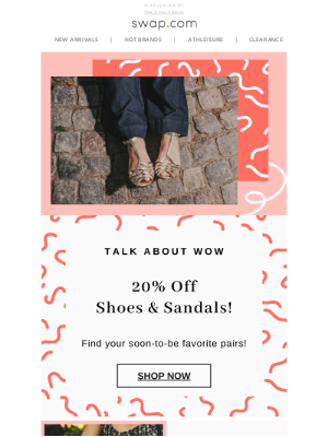 Swap - You Officially Need Summer Sandals 👡