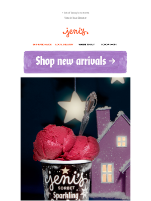 Jeni's Splendid Ice Creams - A sparkling new flavor is here!